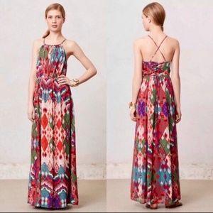 Anthropologies Maeve Tarana maxi dress